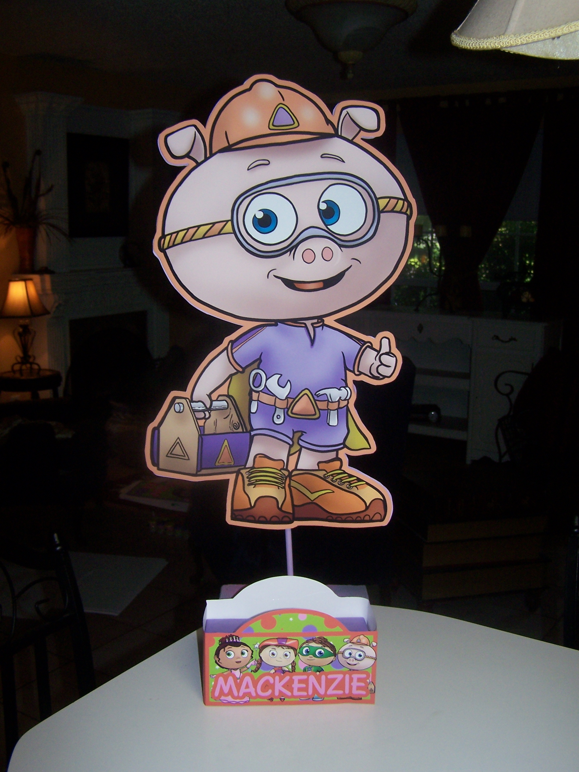 super why birthday party